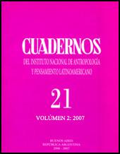 Cuadernos v. 21, n. 2, 2007