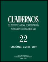Cuadernos v. 22, n. 1, 2008-2009