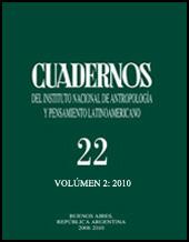 Cuadernos v. 22, n. 2, 2010
